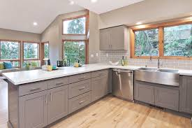 knobs or handles on kitchen cabinets alfiealfa com