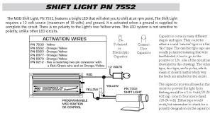 msd programmable digital shift light 7752 shift light with cap msd blog