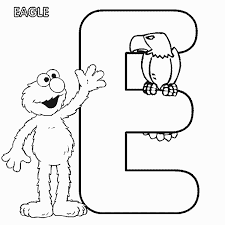 sesame street elmo eagle coloring