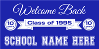 high school reunion banners reunion signs templates for falconboards signs