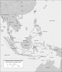 Southeastern Asia Map by Anandaroop Roy Islam In Southeast Asia