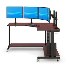 Large L Desk L Shape Computer Desk L Shaped Computer Desk Plans Techni Mobili
