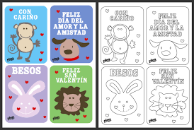 kids valentines day cards s day cards in for your niños spanglishbaby
