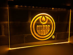 home decor store edmonton online shop ld087 edmonton oilers hockey gift led neon light sign