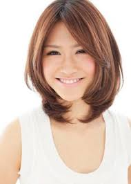 short layered hair style for full face haircuts for round chubby faces google search tresses calling