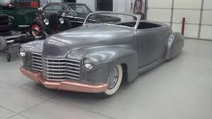pinkees creates an art deco style u002741 cadillac custom car