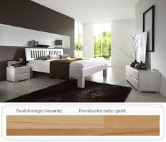 Schlafzimmer Komplett In Buche Schlafzimmer Ascona Comfort Buche Massivholzbett Lowboard Nako