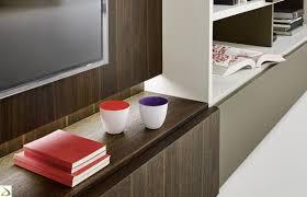 libreria tv enci wooden design bookcase arredo design