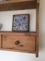 antique pine shelf in goring berkshire gumtree