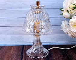Small Crystal Table Lamp Crystal Lamp Etsy