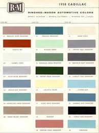 generl motors 1968 color codes pinterest cars