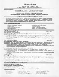 Sales And Marketing Resume Examples by Sales Resume Example