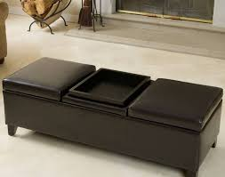 Brown Ottoman Bench Brown Leather Ottoman Coffee Tables Beautiful Large