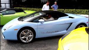 Lamborghini Gallardo Blue - sky blue lamborghini gallardo spyder acceleration engine sound
