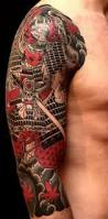samurai tattoo by rg74 tattoo