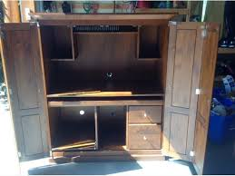 Shaker Style Armoire 27 Innovative Computer Armoire Used Yvotube Com
