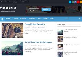 vienna lite 2 blogger template u2022 blogspot templates 2018
