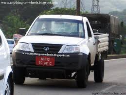 tata sumo grande spied u2013 tata xenon single cab commercial pickup in pune