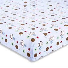 Porta Crib Bedding Sets by Dream On Me All Star Athlete 2 Piece Crib Bedding Set Walmart Com