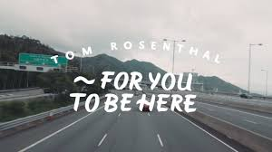to be tom rosenthal for you to be here