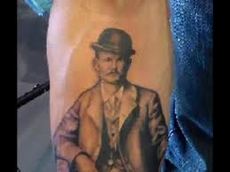 kyle staub timelapse tattoo butch cassidy honor bound tattoos