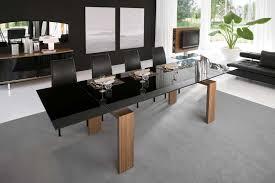 Dining Room Interior Design Ideas Kitchen Table Adorable Black Dining Room Set Round Breakfast