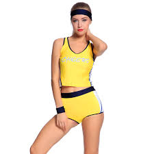 sports halloween costumes for girls ladies basketball cheerleader sports uniform fancy dress