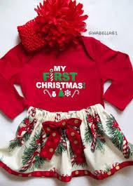 my christmas baby girl 2015 thanksgiving christmas baby girl onesie dress
