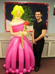 balloon delivery scottsdale balloon delivery princess with as a balloon animal from