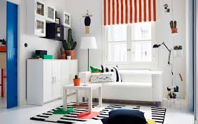 ikea livingroom furniture brighten your living room with stripes of color ikea