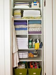 Storage For Towels In Small Bathroom by Organizing A Linen Closet Hgtv