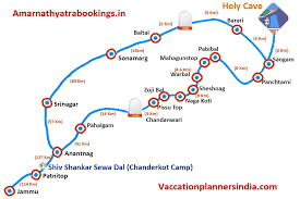 Route Mapping by About Us Amarnathyatrabookings In