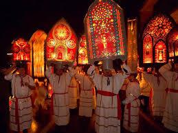 klausjagen kussnacht swiss procession