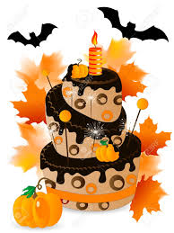 chocolate halloween cakes halloween birthday cake clipart clipartxtras