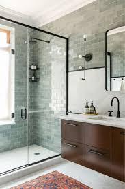 bathroom ceramic tile ideas soap shelf in blue interior under