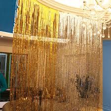 wedding backdrop material shimmer foil glitter tinsel metallic backdrop curtain window