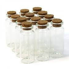 vial glass cork jars tall 4040 mini glass cork jar favor