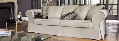 canape tissu rayures coussins de canapé de couleurs différentes chez canapé inn