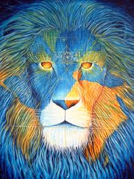lion print earth lion consciousness giclee print on paper large u2013 neil hague