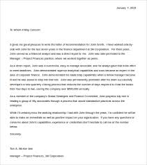 14 recommendation letter templates free sample example format