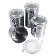 kitchen storage canisters sets kitchen canister set coffee sugar tea stainless steel food storage