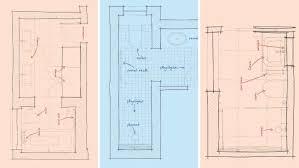 Bathroom Floor Plans Renovation Solutions Tricky Bathroom Floorplans