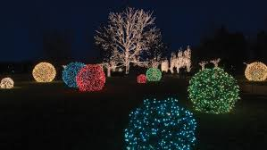 Animated Outdoor Christmas Decorations by The Grandeur Of Grapevine Ball Lights Mosca Design