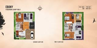 Buy Floor Plans Online by Gm7wtvilla Ebony Ground U0026 First Floor Png