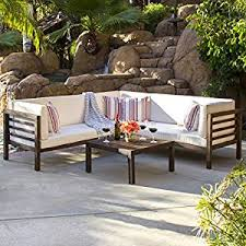 amazon com best choice products 4 piece acacia wood outdoor patio