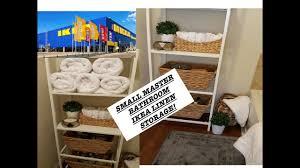 Bathroom Storage Ikea Small Master Bathroom Storage Ikea Linen Closet Solution