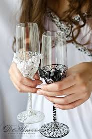 his and hers wedding gifts 438 best wedding glasses ideas images on decorated