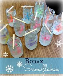 diy icicle ornaments borax crystals ornaments and simple
