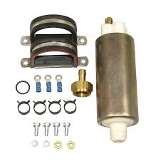 amazon com airtex e8445 universal in line electric fuel pump for