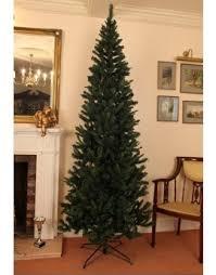 slim christmas trees buy slim pre lit slimline artificial christmas trees